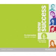 Диски New Success Pre-Intermediate Class CDs