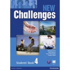 Учебник английского языка New Challenges 4 Students' Book