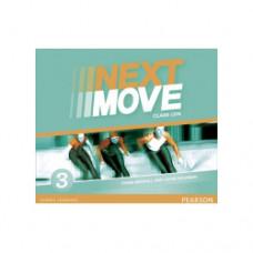 Диски Next Move 3 (A2+) Class Audio CDs (Set of 3)