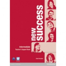 Книга для учителя New Success Intermediate Teacher's Book & DVD-ROM Pack
