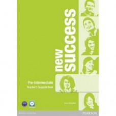 Книга для учителя New Success Pre-Intermediate Teacher's Book & DVD-ROM Pack