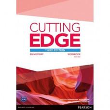 Рабочая тетрадь Cutting Edge Elementary 3rd edition Workbook with key