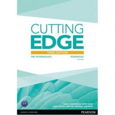Рабочая тетрадь Cutting Edge Pre-intermediate 3rd edition Workbook with key