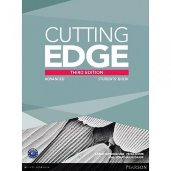 Учебник английского языка Cutting Edge Advanced 3rd edition Students' Book and DVD Pack