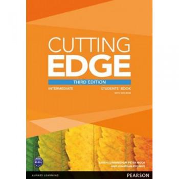 Учебник английского языка Cutting Edge Intermediate 3rd edition Students' Book and DVD Pack