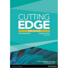 Учебник английского языка Cutting Edge Pre-intermediate 3rd edition Students' Book and DVD Pack