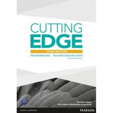 Книга для учителя Cutting Edge Pre-intermediate 3rd edition Teacher's Book with Teacher's Resources Disk Pack
