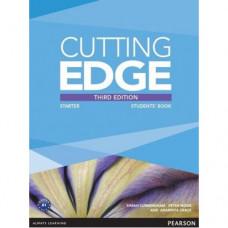 Учебник английского языка Cutting Edge Starter 3rd edition Students' Book and DVD Pack