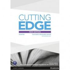 Книга для учителя Cutting Edge Starter 3rd edition Teacher's Book with Teacher's Resources Disk Pack