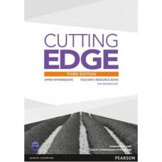 Книга для учителя Cutting Edge Upper-Intermediate 3rd edition Teacher's Book with Teacher's Resources Disk Pack
