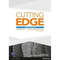 Книга для учителя Cutting Edge Intermediate 3rd edition Teacher's Book with Teacher's Resources Disk Pack