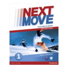 Книга для учителя Next Move 1 (A1) Teacher's Book + Multi-ROM