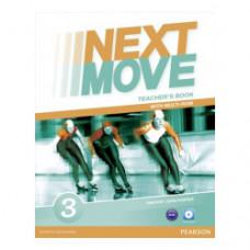 Книга для учителя Next Move 3 (A2+) Teacher's Book + Multi-ROM