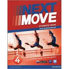 Учебник английского языка Next Move 4 (B1) Student's Book with MyEnglishLab