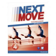 Книга для учителя Next Move 4 (B1) Teacher's Book + Multi-ROM