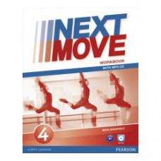 Рабочая тетрадь Next Move 4 (B1) Workbook + MP3 Audio