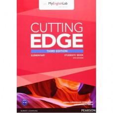 Учебник английского языка Cutting Edge Elementary 3rd edition Student Book with DVD and myEnglishLab