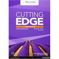Учебник английского языка Cutting Edge Upper-Intermediate 3rd edition Student Book with DVD and myEnglishLab