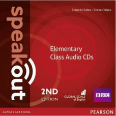 Диски Speakout (2nd Edition) Elementary Class CD