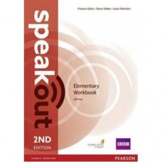 Рабочая тетрадь Speakout (2nd Edition) Elementary Workbook with Key