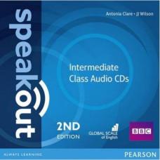 Диски Speakout (2nd Edition) Intermediate Class CD