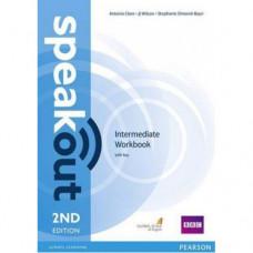 Рабочая тетрадь Speakout (2nd Edition) Intermediate Workbook with Key