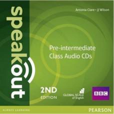 Диски Speakout (2nd Edition) Pre-Intermediate Class CD