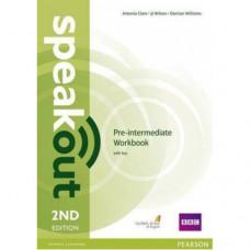 Рабочая тетрадь Speakout (2nd Edition) Pre-Intermediate Workbook with Key