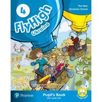 Учебник  Fly High Ukraine 4 Pupil's Book + Audio CD