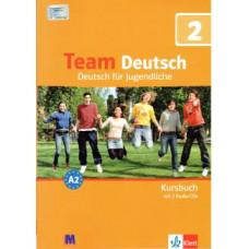 Учебник Team Deutsch 2 Kursbuch