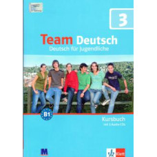 Учебник Team Deutsch 3 Kursbuch