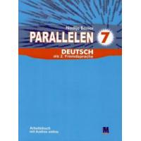 Рабочая тетрадь для 7-го класса Parallelen 7 Arbeitsbuch (3-й год обучения, 2-й иностранный)