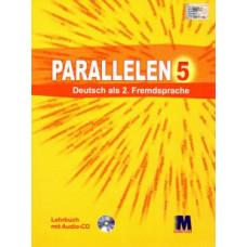 Учебник для 5-го класса Parallelen 5  Lehrbuch (1-й год обучения, 2-й иностранный)