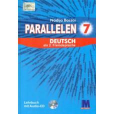 Учебник для 7-го класса Parallelen 7 Lehrbuch   (3-й год обучения, 2-й иностранный)
