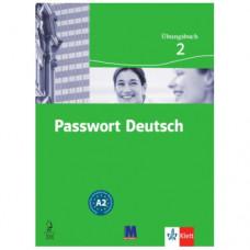 Рабочая тетрадь Passwort Deutsch 2 Übungsbuch