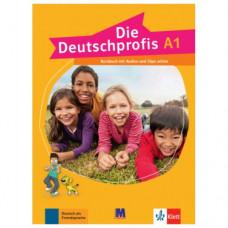 Учебник Die Deutschprofis A1 Kursbuch mit Audios und Clips online