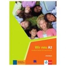 Рабочая тетрадь Wir Neu A2 Arbeitsbuch