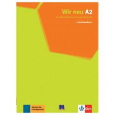 Книга для учителя Wir Neu A2 Lehrerhandbuch