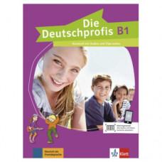 Учебник Die Deutschprofis B1 Kursbuch mit Audios und Clips online