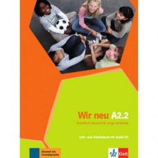 Учебник Wir Neu A2.2 Lehrbuch und Arbeitsbuch Teil 2