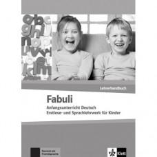 Книга для учителя Fabuli Lehrerhandbuch