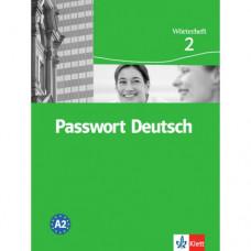 Словарь Passwort Deutsch 2 Wörterheft