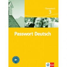 Рабочая тетрадь Passwort Deutsch 3 Übungsbuch
