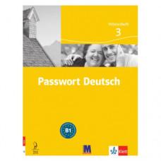 Словарь Passwort Deutsch 3 Wörterheft