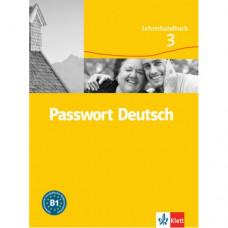 Книга для учителя Passwort Deutsch 3 Lehrerhandbuch
