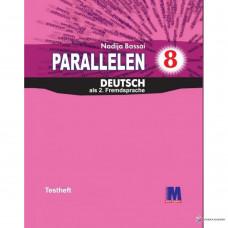 Тесты для 8-го класса Parallelen 8 Testheft (4-й год обучения, 2-й иностранный)