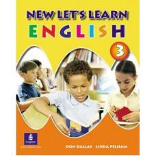 Учебник New Let's Learn English Pupils' Book 3 и Рабочая тетрадь Activity Book 3
