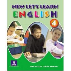 Учебник New Let's Learn English Pupils' Book 4 и Рабочая тетрадь Activity Book 4