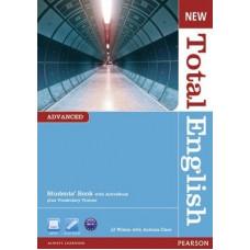 Учебник английского языка New Total English Advanced Students' Book with Active Book Pack