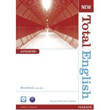 Рабочая тетрадь New Total English Advanced Workbook with Key and Audio CD Pack